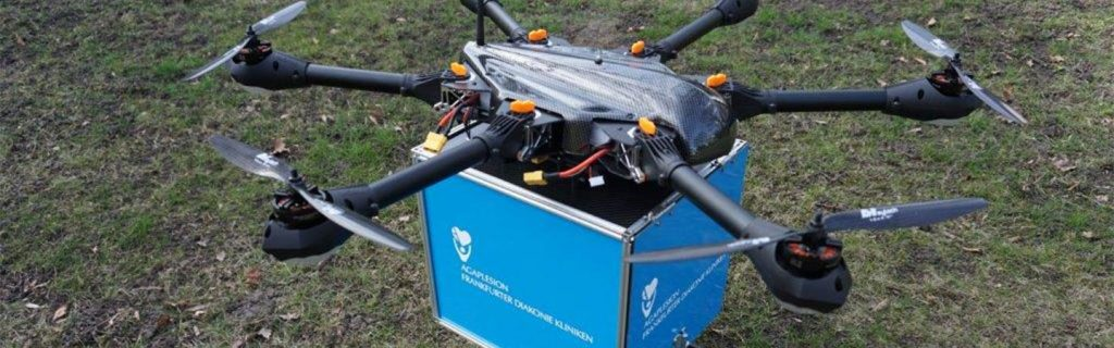 Krankenhaus Transport-Drohne
