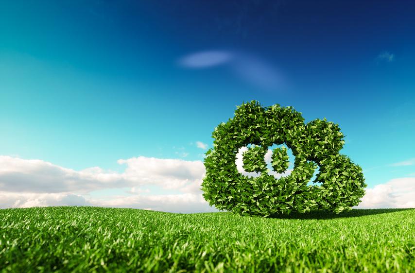 Kohlendioxid-Umwelt